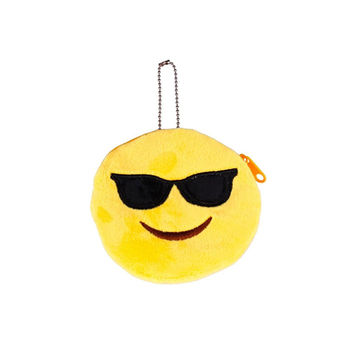 Emoji designed coin purse
