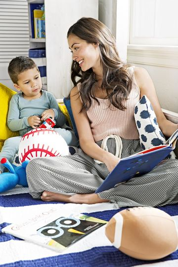 Gender Roles Boy And Mom Read Book