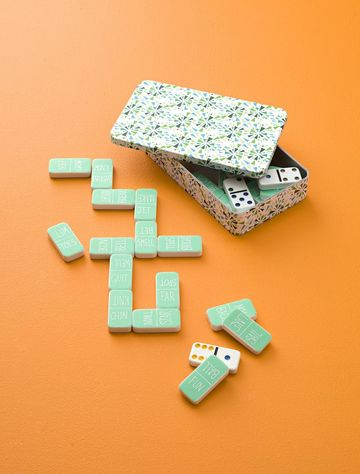 Rhyme and Reason Domino Game