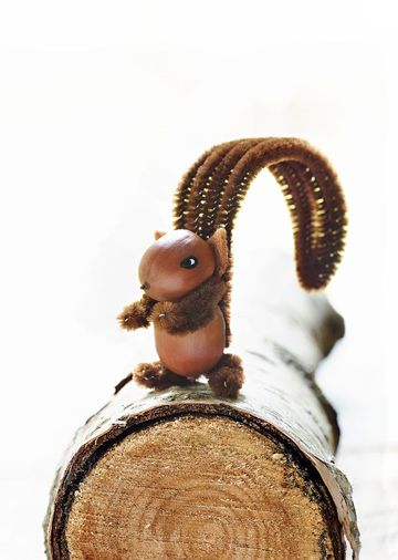 Acorn Squirrel Craft