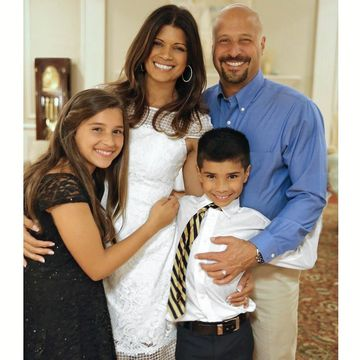 Andrea Navedo with her Family