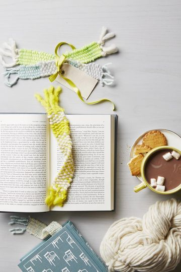 One for the Book No-Knit Yarn Bookmark