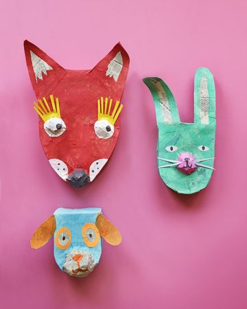 A Mini Menagerie DIY Craft
