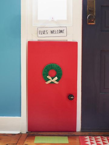 Elf Entrance DIY Craft