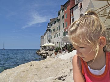 Little Girl in Croatia