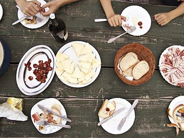 Croatian Food Spread