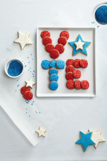 A Sweet Civic Duty VOTE Cookies