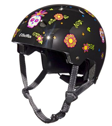 Latino Culture Holiday Gifts Electra Graphic Helmet Sugarskulls