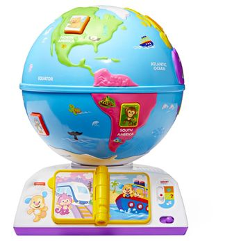 Latino Culture Holiday Gifts Fisher-Price Laugh Learn Greetings Globe