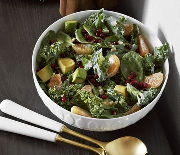 Thanksgiving Dishes Clementine And Kale Salad