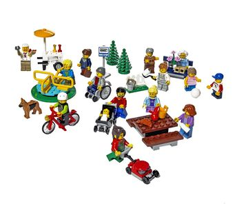 Best Toys Lego City Fun in the Park—City People Pack