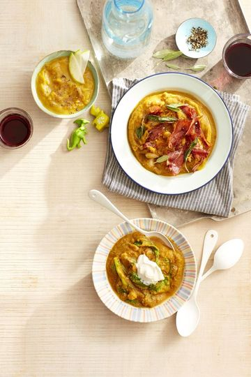Curried Squash Soup Bowl