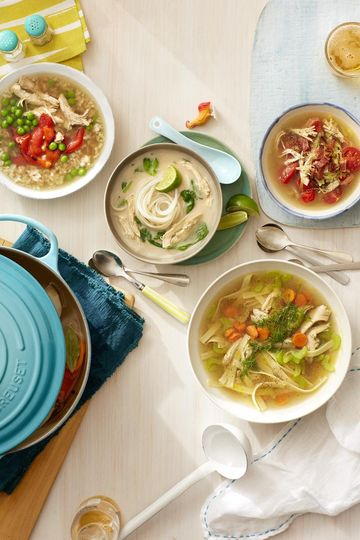 Arroz Con Pollo Soup Bowl