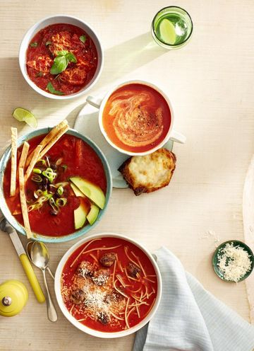 Tomato Soup Recipes Four Bowls