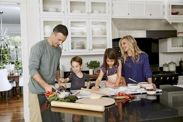 Freddie Prinze Jr. And Family Cooking Together