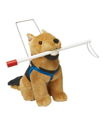 Lakeshore German Shepard Guide Dog Harness and Cane