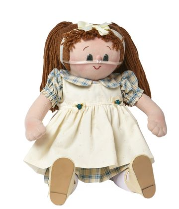 Karen Challender's Kids Special Angel Dolls With Medical Devices
