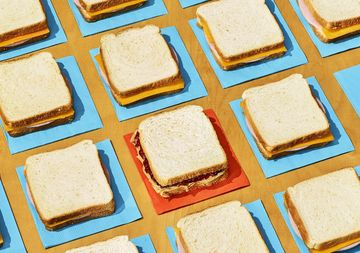 Food Allergies Peanut Butter Jelly and Ham Cheese Sandwiches