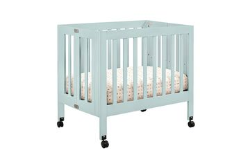 Origami Mini Crib Teal