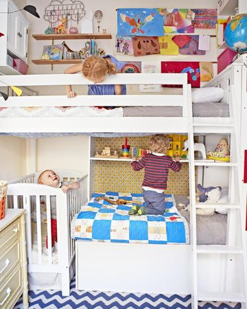 Townhouse Apartment Colorful Built In Bunk Room Three Kids