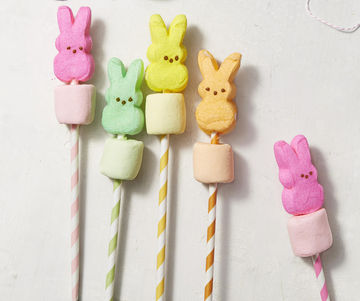 Peeps Treats Kabob Cuties Paper Straws
