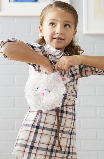Easter Crafts Lamb Purse