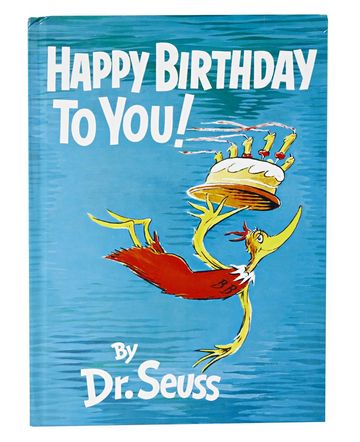 Children's Book Dr. Seuss Happy Birthday to You