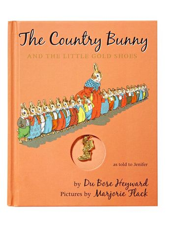 Children's Book The Country Bunny and the Little Gold Shoes