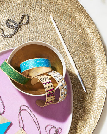 Jewelry Kids Make Bentwood Bracelets