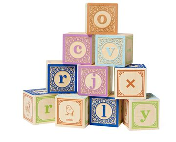 American Toys Classic Lowercase Blocks