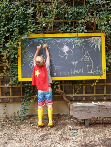 Fun Backyard Outdoor Easel