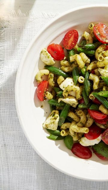 Healthy Grill Pesto Macaroni Salad