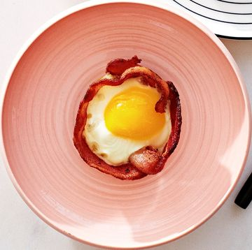 Fast Breakfast Bacon and Egg Cups