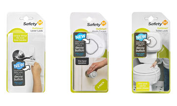 Childproof Products Safety 1st's OutSmart collection