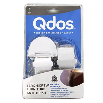Childproof Products Qdos's Zero-Screw Furniture Anti-Tip Kit