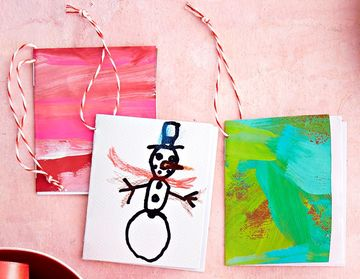 Handmade Ornaments Tiny Art Books