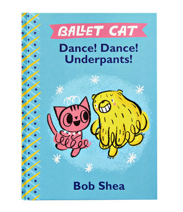 The Ballet Cat series by Bob Shea