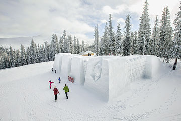 Keystone Resort Colorado Giant Snow Fort
