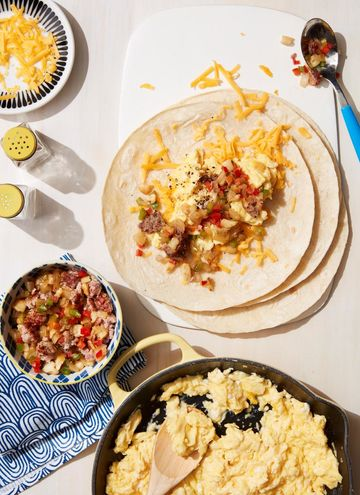 Easy-Freezy Breakfast Burritos