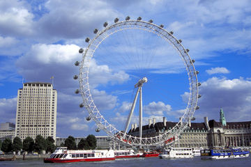 Vacation Spots London Ferris Wheel