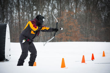 Woodloch Pines Hawley Pennsylvania Winter Archery Tag