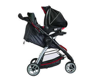 Travel System Graco's FastAction Fold Sport Click Connect