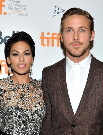 Eva Mendes and Ryan Gosling at Toronto Film Festival