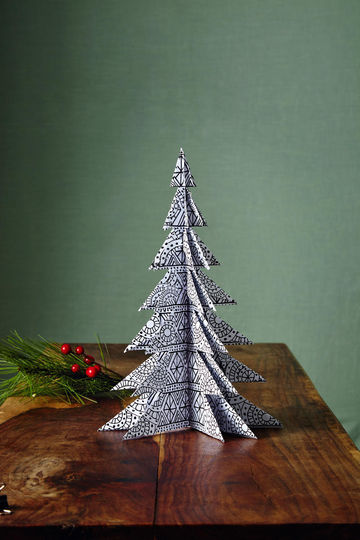 Folded Boughs Trees Tabletop Crafts
