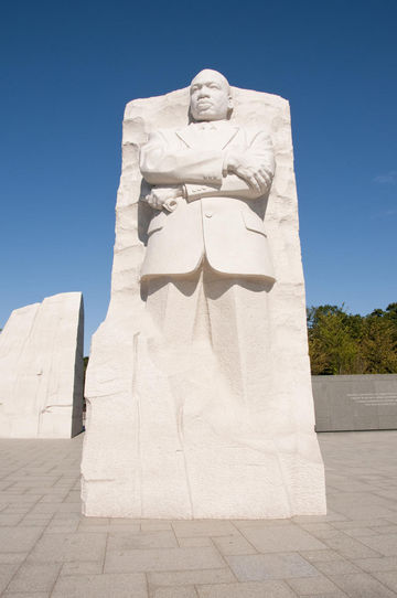 Martin Luther King Memorial, Washington DC, USA