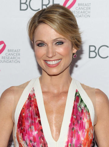 Amy Robach Breast Cancer Research Foundation Getty