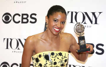 Renee Elise Goldsberry at the 70th Annual Tony Awards