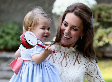 Princess Charlotte and Kate Middleton Play Date