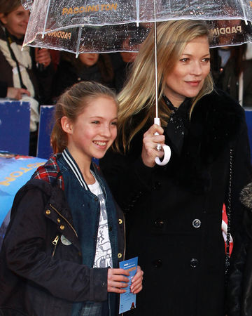 Kate Moss and daughter Lila Grace