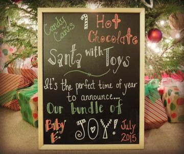 Katie Christmas Pregnancy Announcement